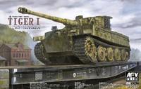 Tiger I PzKpfw VI Ausf E SdKfz 181 Tank 1/35 AFV Club