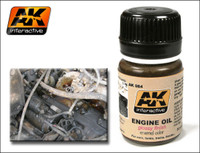 Engine Oil Glossy Enamel 35ml AK Interactive