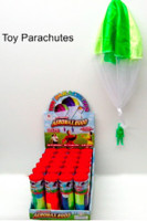 Toy Parachute w/Figure in Plastic Tube Aeromax