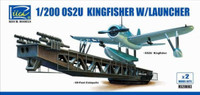 OS2U Kingfisher Aircraft with Launcher 1/200 Riich