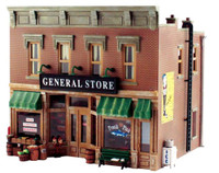 Lubener's General Store O Scale Woodland Scenics