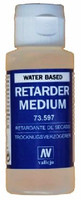 60ml Acrylic Medium Bottle Retarder Water Based Vellejo