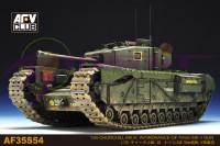 British Churchill Mk III Infantry Tank with Ordnance QF 75mm Mk V Gun 1/35 AFV Club