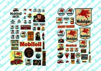 1930-50's Vintage Mobil Gas Station Posters/Signs (74) JL Innovative HO