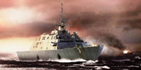 USS Fort Worth LCS-3 Littoral Combat Ship 1/350 Trumpeter