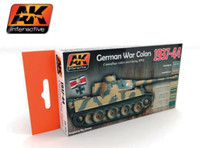 WWII German Camouflage War Colors 1937-44 Acrylic Paint Set 17ml Bottles AK Interactive