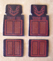 Trans Am Car Mat Set 1/25 Plastic Dreams