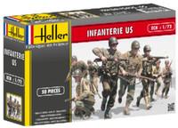 US Infantry (50) 1/72 Heller