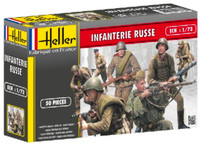 Russian Infantry (50) 1/72 Heller