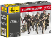 French Infantry (50) 1/72 Heller