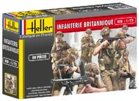 British Infantry (50) 1/72 Heller