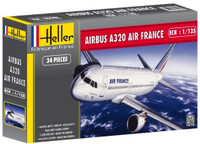 Airbus A320 Air France Airliner 1/125 Heller