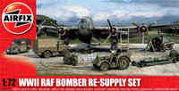 WWII RAF Bomber Re-Supply Set 1/72 Airfix