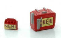 """Nehi"" Chest Type Custom Soda Machines w/6-Pack HO JL Innovative"