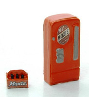 """Moxie"" Upright Type Custom Soda Machines w/6-Pack HO JL Innovative"