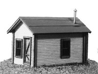 Miner's Cabin Kit N American Model Builders