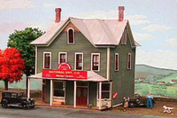 Nine Mile House & Tavern N American Model Builders