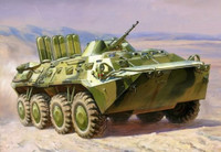 BTR-80 Russian Armored Personnel Carrier (Snap Kit) 1/100 Zvezda