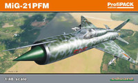 MiG21 PFM Fighter (Profi-Pack Plastic Kit) 1/48 Eduard