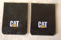 CAT Truck Mud Flap Set 1/25 Plastic Dreams