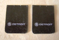Detroit Diesel Truck Mud Flap Set 1/25 Plastic Dreams