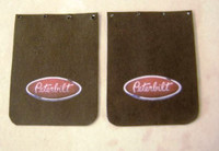 Peterbilt Truck Mud Flap Set 1/25 Plastic Dreams