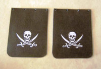 Jolly Roger Truck Mud Flap Set 1/25 Plastic Dreams