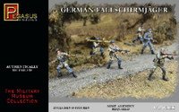 German Fallschirmjager Figure Set 1/32 Pegasus