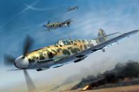 Messerschmitt Bf109G2/Trop German Fighter 1/32 Trumpeter