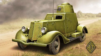 Ba20 Late Production Late Armored Car 1/48 Ace Models