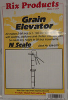 Grain Elevator w/Ladders, Platforms & Chutes N Rix Products