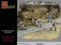 German Fallschirmjager (40) 1/72 Pegasus
