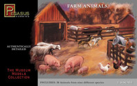Farm Animals (30) 1/48 Pegasus