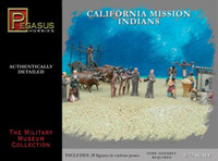 California Mission Indians Set #1 (39) 1/72 Pegasus