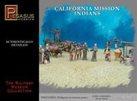 California Mission Indians Set #1 (39) 1/72 Pegasus