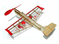 Rockster Jet Mini Rubber-Band Powered Laser Cut Balsa Aircraft  Guillows