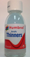 Acrylic Thinners 125ml Bottle Humbrol