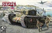 British Churchill Mk III Dieppe Tank 1/35 AFV Club