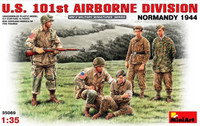 US 101st Airborne Division, Normandy 1944 (5) 1/35 Miniart
