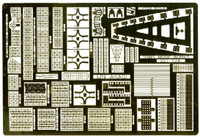 IJN Akagi 3-Deck Photo-Etched Detail Set for HAS 1/700 Toms Modelworks