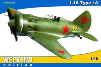 I16 Type 18 Soviet Fighter Leningrad (Wkd Edition) 1/48 Eduard