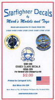 Essex Class 1958-1991 USS Shangri-La (for RMX) 1/500 Starfighter Decals