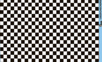 Checkers (Black/White) 1/24-1/2 Goder Racing Decals