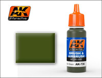 Spanish Green Acrylic Paint 17ml Bottle AK Interactive