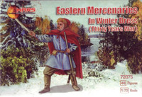 Thirty Years War Eastern Mercenaries, Winter Dress (48) 1/72 Mars Figures