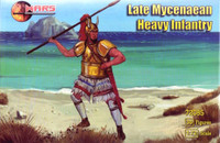 Late Mycenaean Heavy Infantry (30) 1/72 Mars Figures