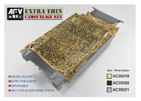 Desert Tan Die Cut Camouflage Netting 1/35 AFV Club