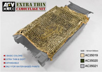Jungle Green Die Cut Camouflage Netting 1/35 AFV Club