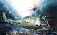 UH1D Iroquois Helicopter 1/48 Italeri