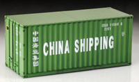 20' Shipping Container 1/24 Italeri